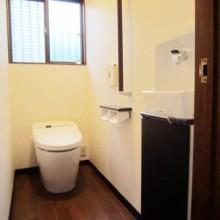 厚木市H様邸 大人のトイレ