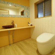 小山市S様邸 広くゆったり気持ちのよいトイレに・・・