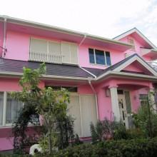 座間市S様邸 ステキな明るめのピンクの家