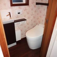 厚木市F様邸 優しいトイレ