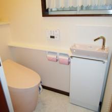 伊勢原市K様邸 品ある優しいトイレ空間に・・・