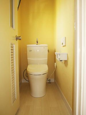 2F トイレ : TOTOピュアレストQR